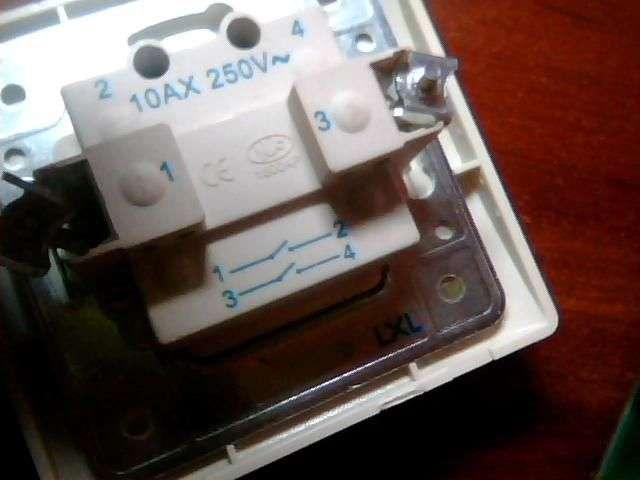 Схема підключення прохідного вимикача