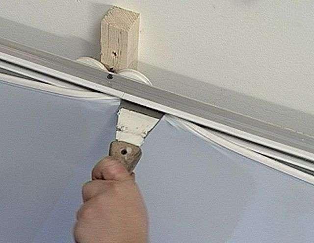 Звукоізоляція стелі в квартирі під натяжну стелю