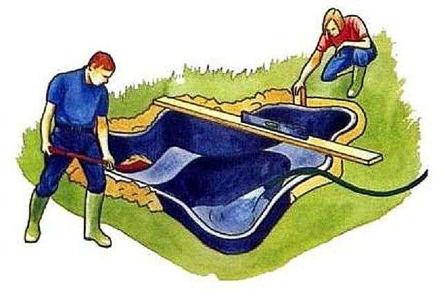 Як зробити ставок на дачі