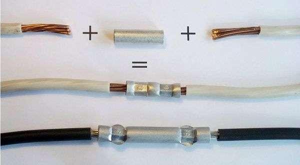Зєднання алюмінієвих і мідних проводів