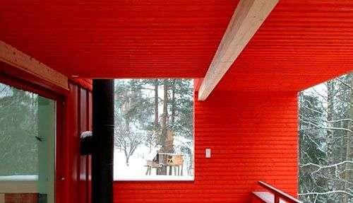 Чим пофарбувати вагонку всередині будинку