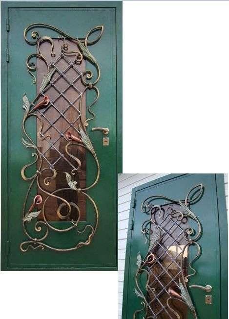Залізні двері своїми руками