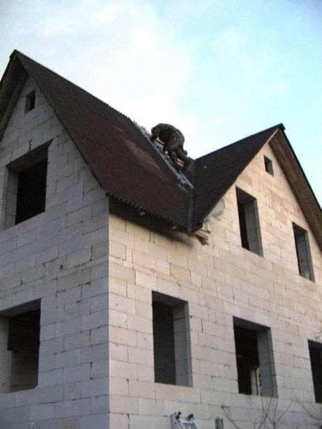 Будинок з газобетону своїми руками