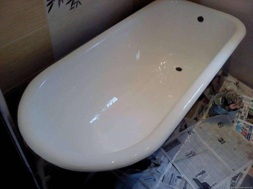 Реставрація ванни своїми руками