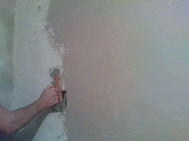 Штукатурка стін своїми руками