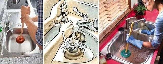 Засмітилася раковина на кухні що робити