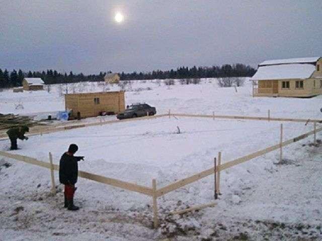 Як заливати фундамент взимку