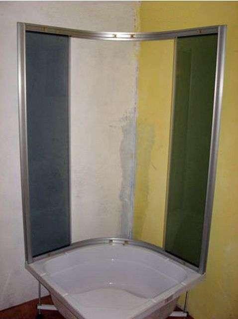 Збірка душової кабіни своїми руками
