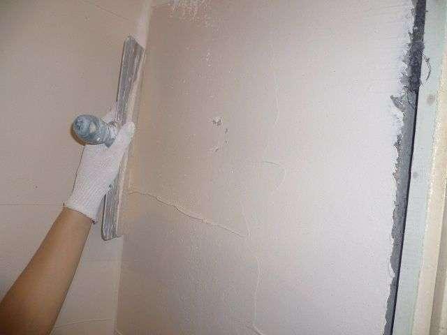 Шпаклівка стін своїми руками