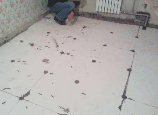 Тепла підлога електричний своїми руками