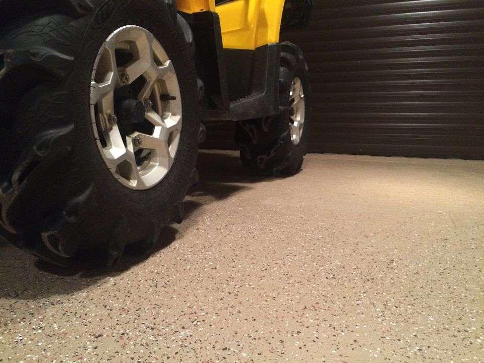 Підлога в гаражі своїми руками