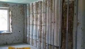 Робота з гіпсокартоном своїми руками зведення стін і перегородок