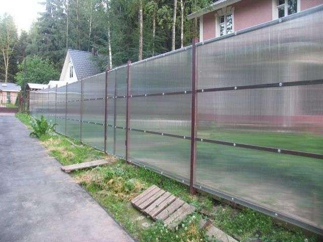 Бетонування стовпів для паркану