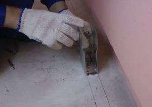 Лаги для підлоги своїми руками