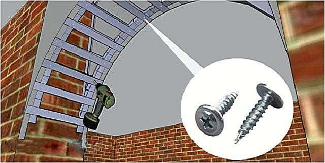 Як зробити арку з гіпсокартону