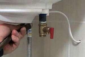 Зворотний клапан для водонагрівача