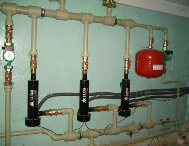 Теплоносії для системи опалення