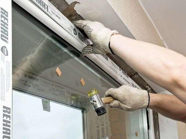 Установка пластикового вікна своїми руками