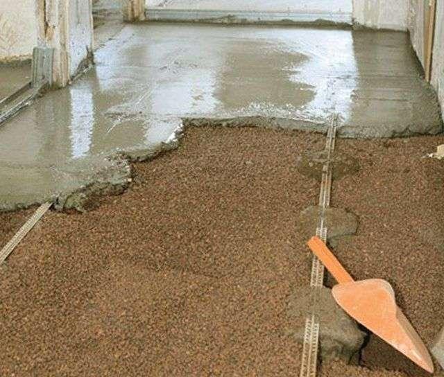Как сделать сухую стяжку с керамзитом в квартире своими руками
